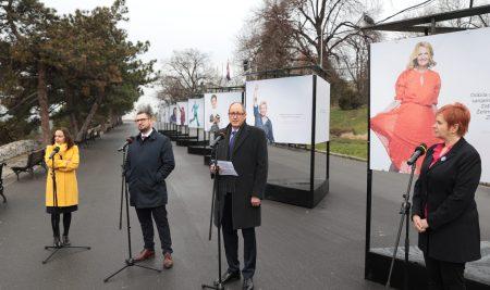 """izložba fotografija autora Nebojše Babića  """"Zajedno protiv (m)raka"""" u organizaciji Ženskog centra Milica"""
